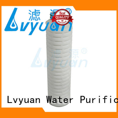 nylon pleated water filter cartridge manufacturer for food and beverage