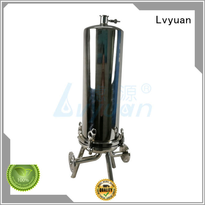 Lvyuan stainless steel cartridge filter housing rod for oil fuel