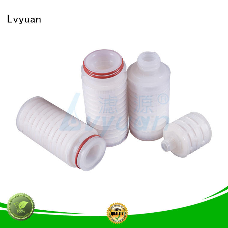 Lvyuan filter pleated filter cartridge with sale