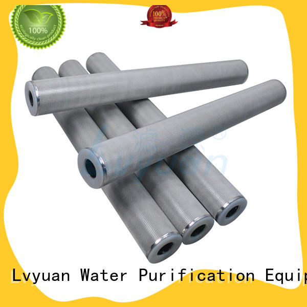 SS Sintered Filter Cartridge metal mesh filter Suppliers
