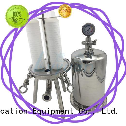 Lvyuan titanium ss bag filter housing rod for food and beverage