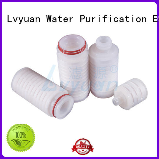 pvdf pleated filter replacement for food and beverage
