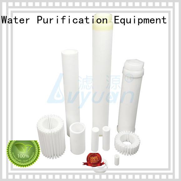 Lvyuan professional sintered filter cartridge supplier for food and beverage
