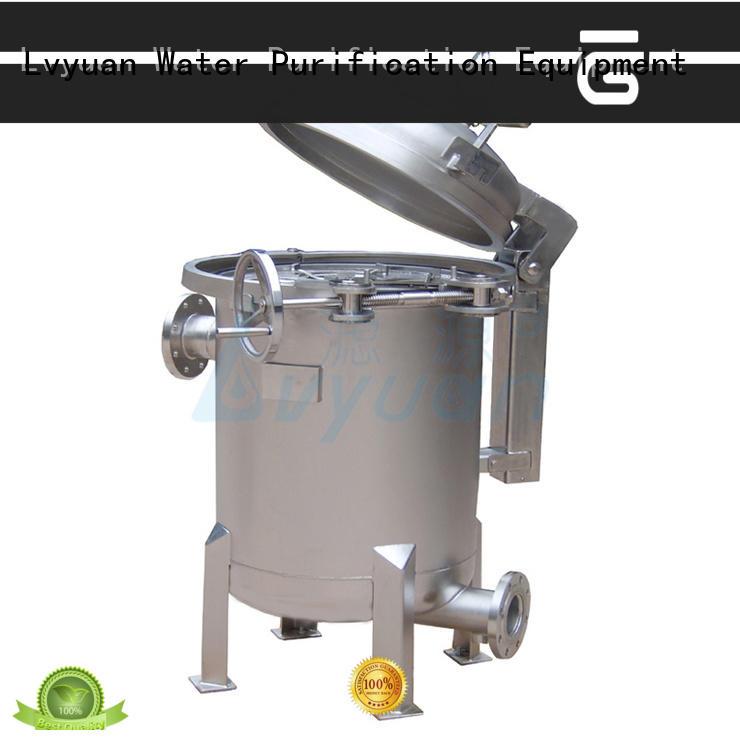 Lvyuan ss cartridge filter housing manufacturer for oil fuel