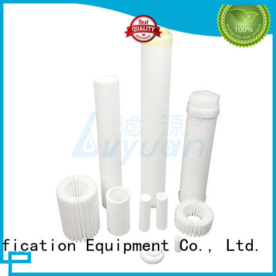 activated sintered plastic filter cartridge gas