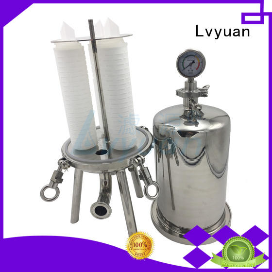 best bag filter housing high quality for industry Lvyuan