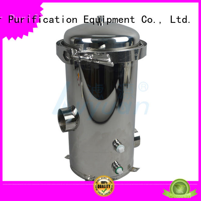 Lvyuan stainless steel water filter housing manufacturer for oil fuel