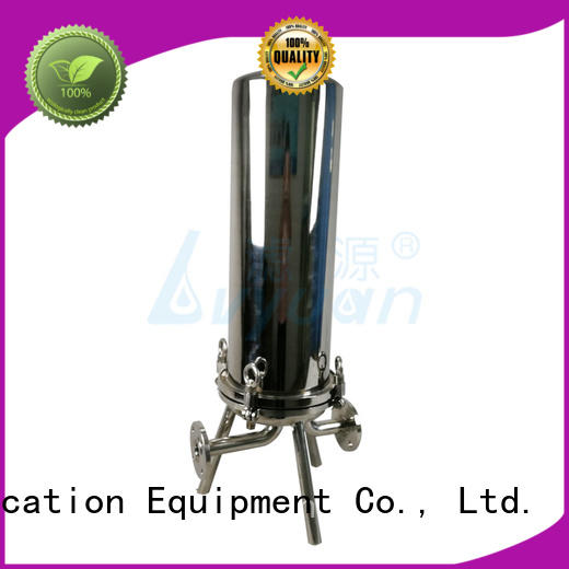 high quality ss cartridge filter housing manufacturer for sea water desalination