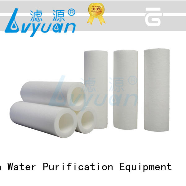 Lvyuan customized melt blown filter cartridge manufacturer for industry