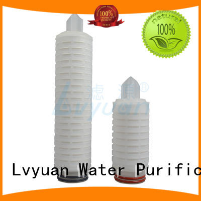 Lvyuan nylon pleated type filter manufacturer for industry