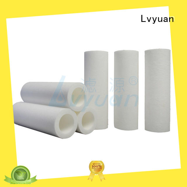 polypropylene pp melt blown filter cartridge replacement for food and beverage