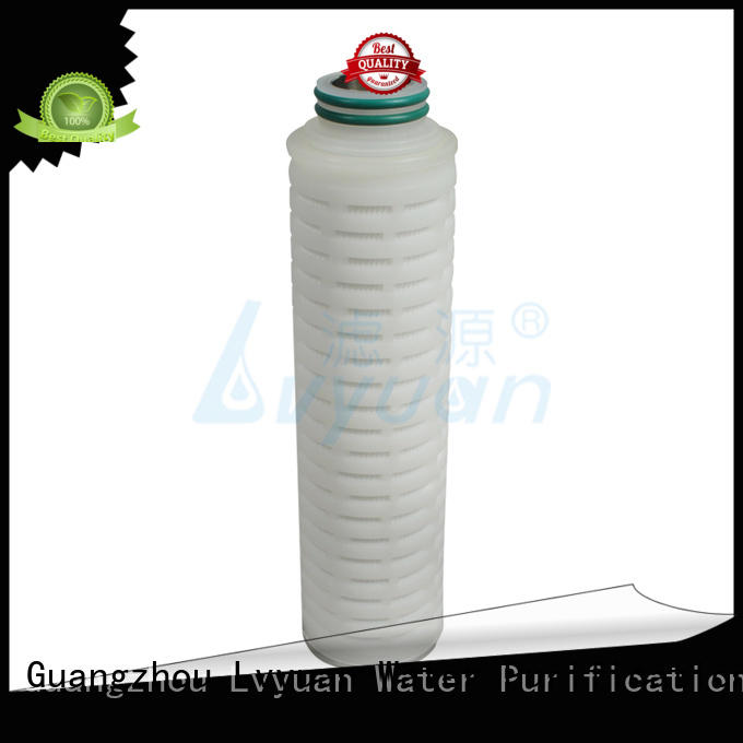 safe filter water cartridge supplier for industry