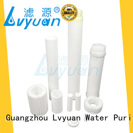 titanium sintered carbon water filter supplier for sea water desalination