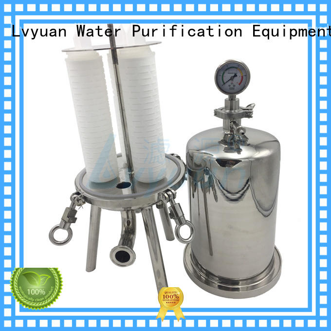 best stainless steel bag filter housing rod for food and beverage