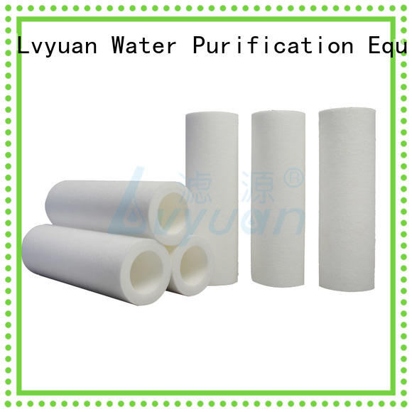 Lvyuan polypropylene melt blown filter replacement for food and beverage