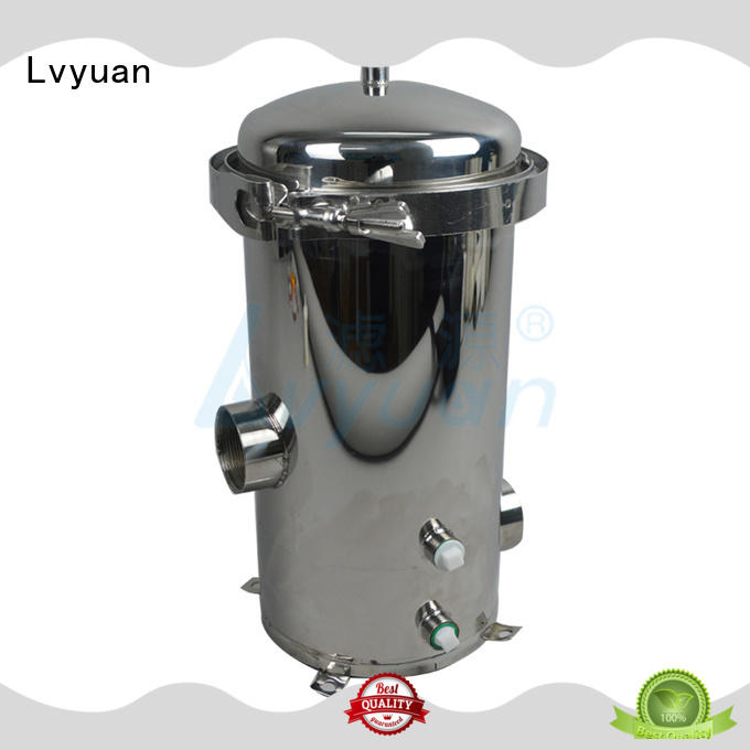 Lvyuan stainless 10 filter housing stainless fuel