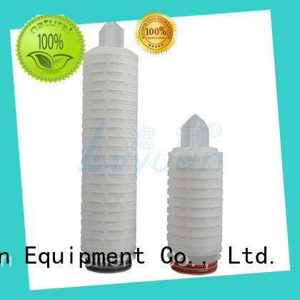 Lvyuan pleated filter element with stainless steel for industry