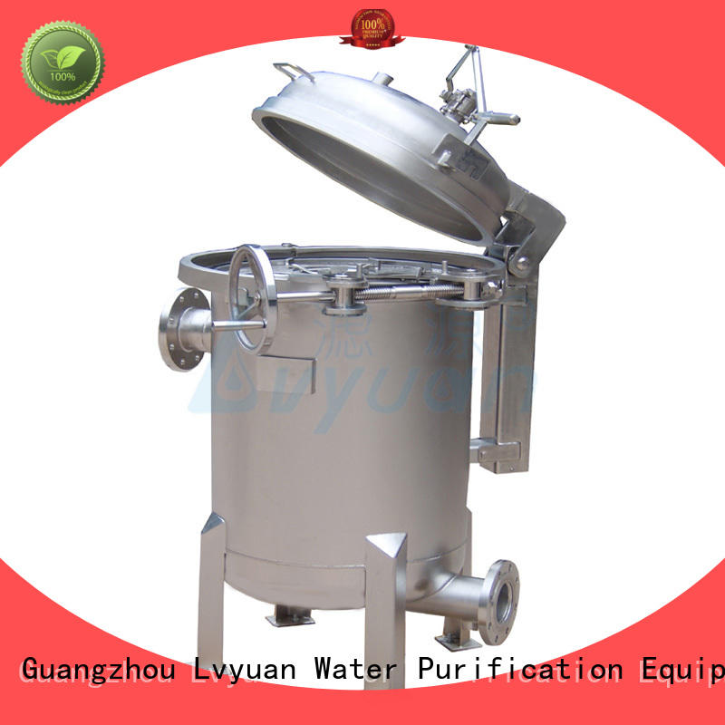 Lvyuan titanium stainless filter housing manufacturer for oil fuel