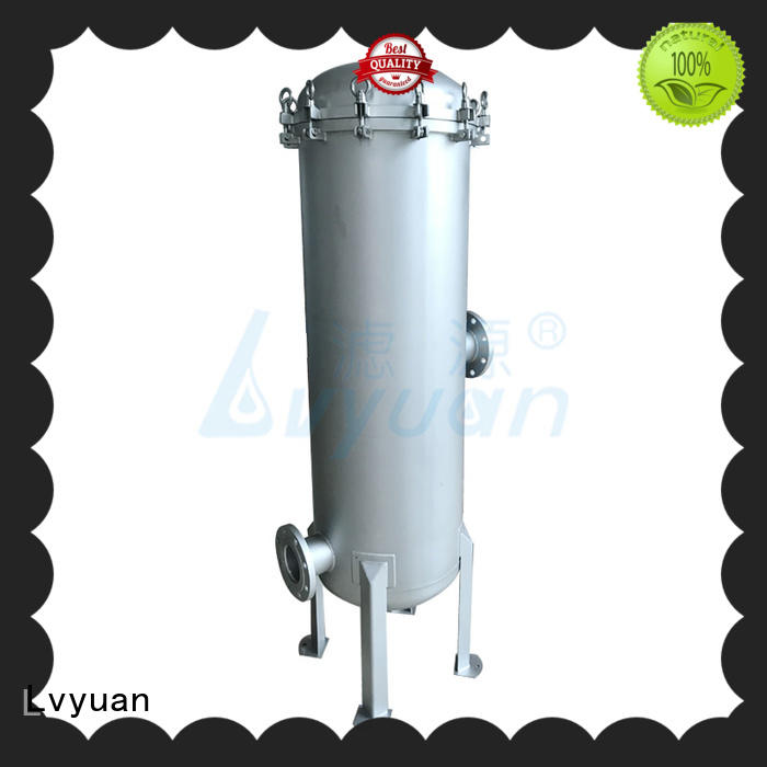 Lvyuan professional stainless steel filter housing rod for sea water desalination