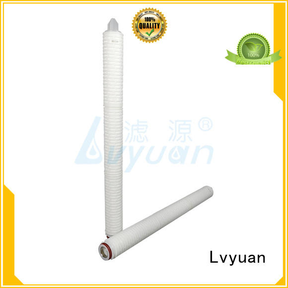 pleated filter element manufacturer for food and beverage Lvyuan
