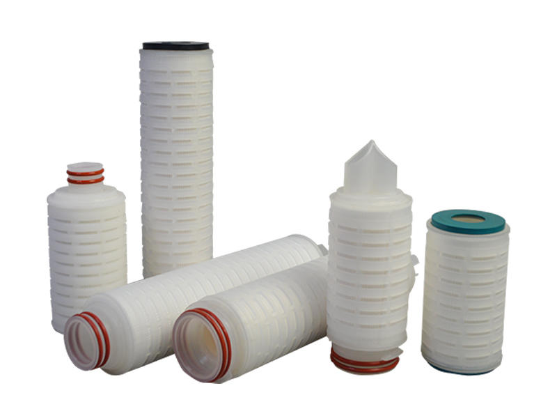 water pleated filter element supplier for liquids sterile filtration-3
