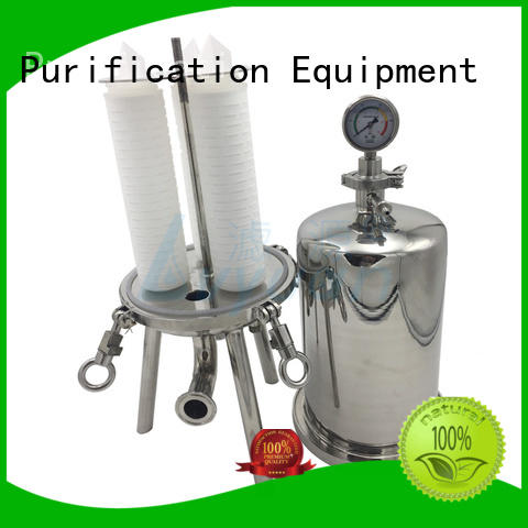 best stainless steel bag filter housing with fin end cap for sea water desalination