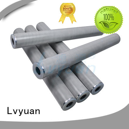 porous ss sintered filter supplier for sea water desalination