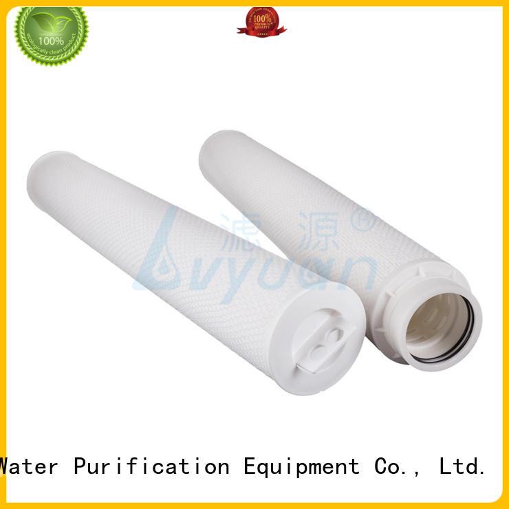 Lvyuan safe hi flow water filter park for sea water desalination