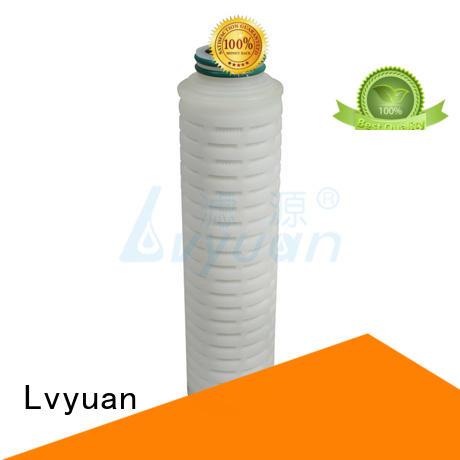 Lvyuan pleated filter element manufacturer for diagnostics