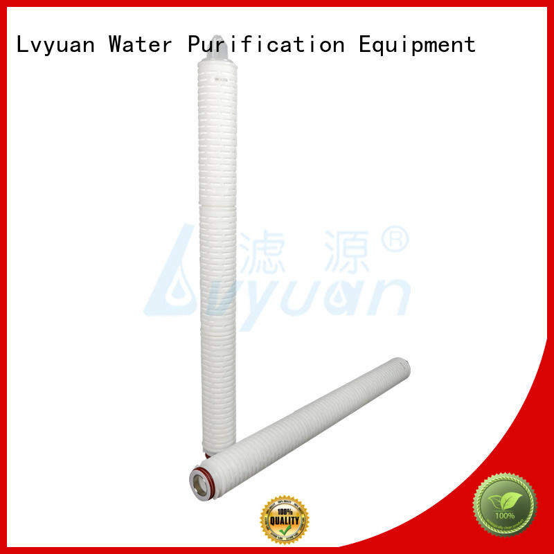 Lvyuan pleated water filters replacement for liquids sterile filtration