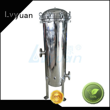 Lvyuan stainless steel bag filter housing rod for sea water treatment