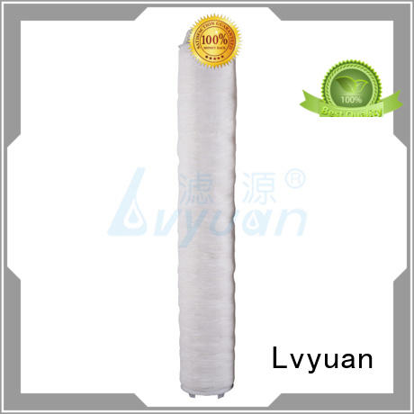 Lvyuan pall hi flow water filter cartridge manufacturer for sale