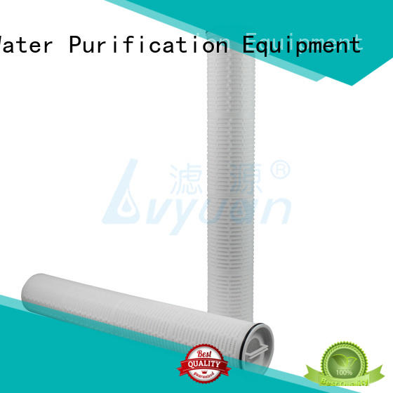 Lvyuan high end hi flow water filter cartridge replacement for industry
