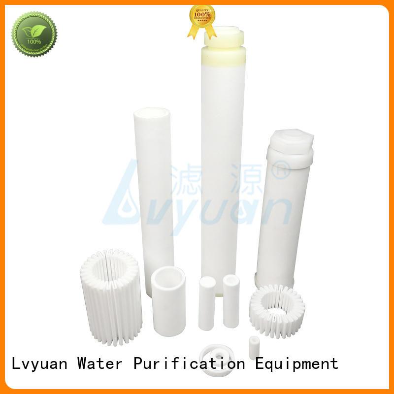 sintered stainless steel filter metal filtration Lvyuan