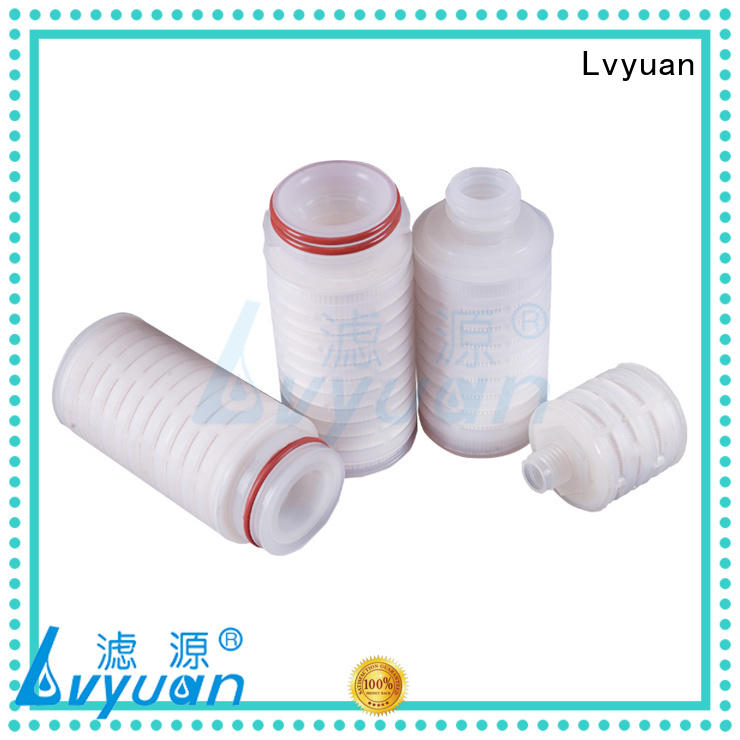 water pleated filter manufacturers replacement for organic solvents