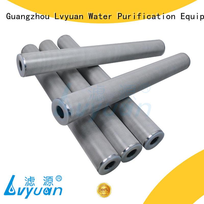Lvyuan sintered metal filter supplier for food and beverage