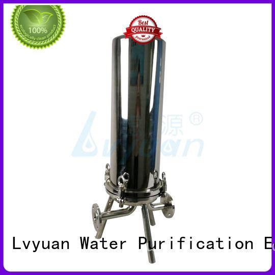 Lvyuan porous ss filter housing manufacturer for sea water treatment