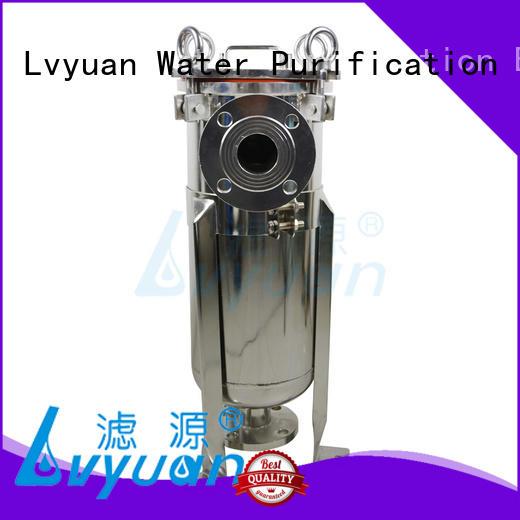 Lvyuan professional ss bag filter housing manufacturer for food and beverage