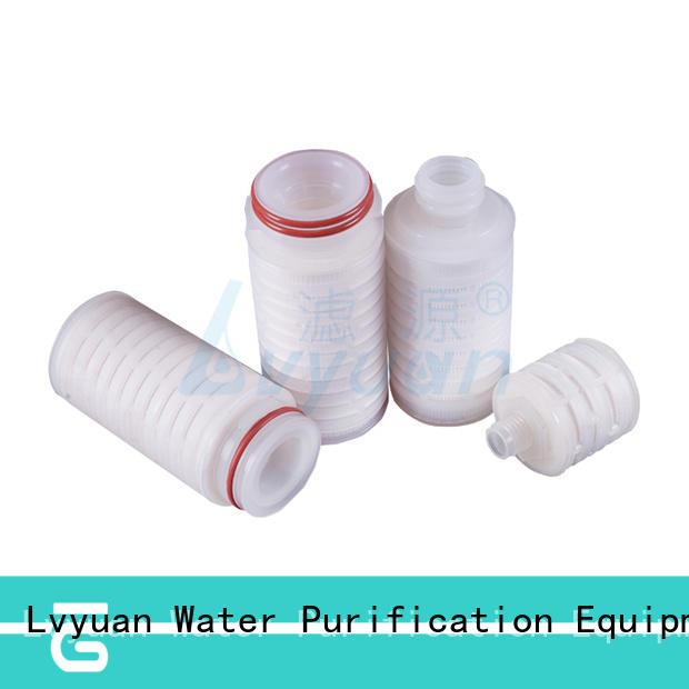 ptfe pleated type filter manufacturer for diagnostics