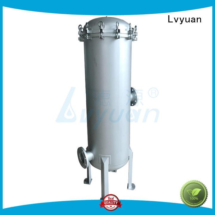 Lvyuan stainless steel bag filter housing rod for industry
