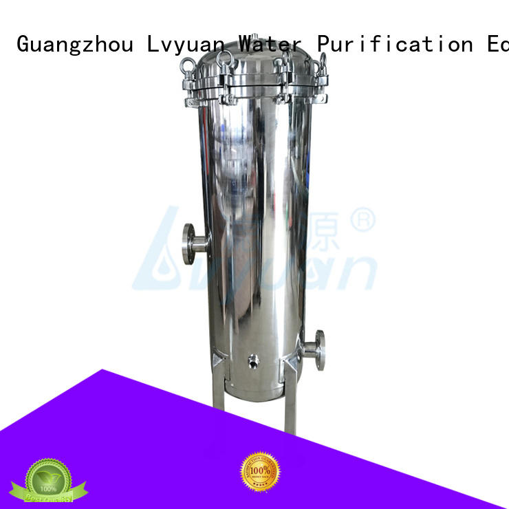 Lvyuan stainless steel water filter housing housing for industry