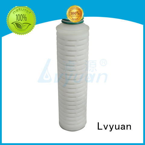 Lvyuan pleated pleated type filter steel for