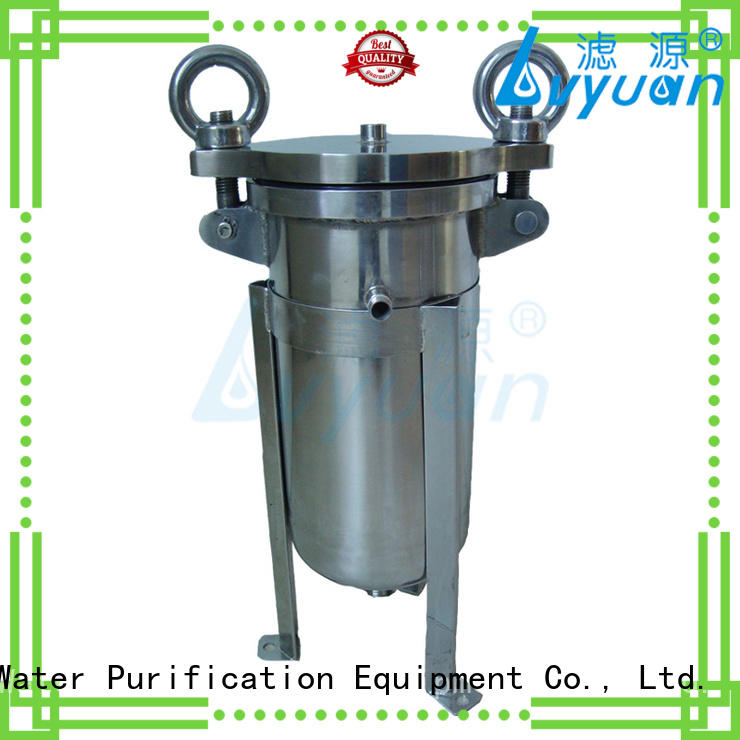 sanitary filter housing cap oil