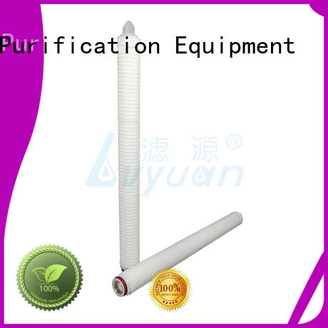 Lvyuan pleated filter manufacturers manufacturer for organic solvents
