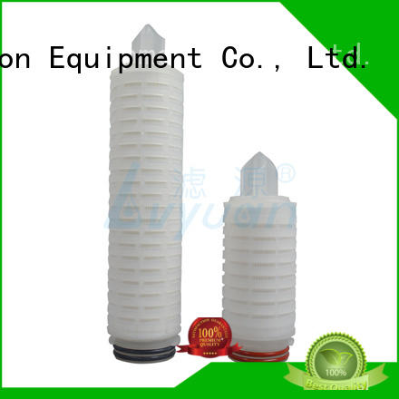 pleated filter cartridge suppliers best for sea water desalination Lvyuan