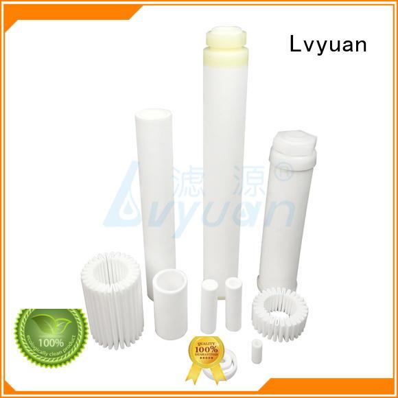 Lvyuan block sintered powder ss filter supplier for industry