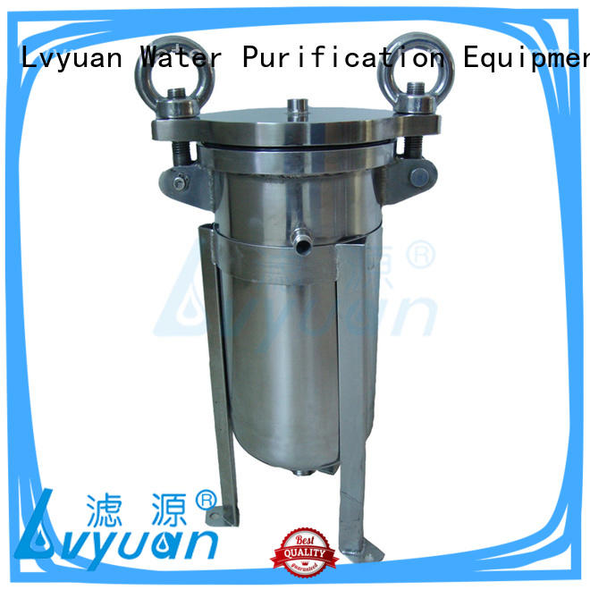 Lvyuan titanium stainless steel filter housing with core for food and beverage