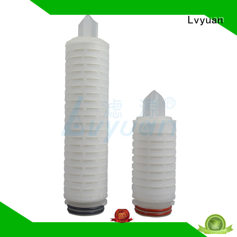 ptfe pleated water filters replacement for sea water desalination