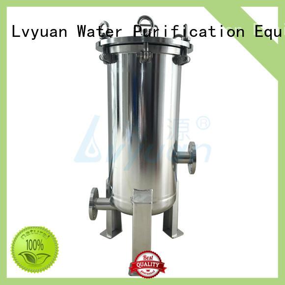 Lvyuan steel filter housing end for