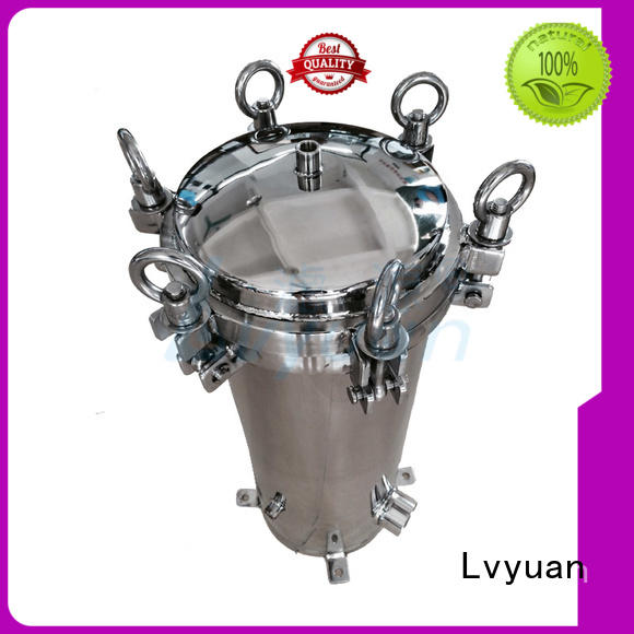 Lvyuan professional stainless steel filter housing manufacturers manufacturer for sea water treatment